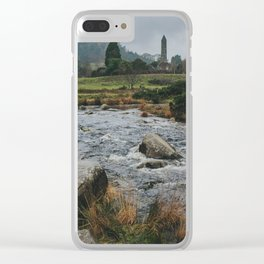 Approaching Glendalough Clear iPhone Case