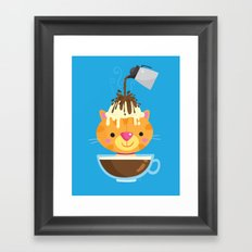 Affogato Framed Art Print
