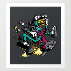 JOY RIDE! Art Print