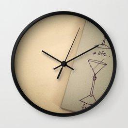 a toast. Wall Clock