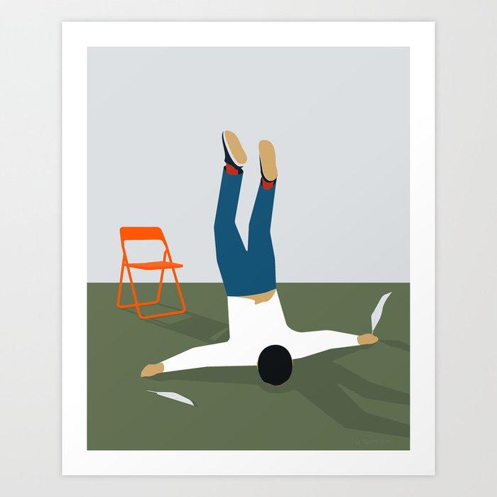 DRØMMEN OM AT FLYVE Art Print