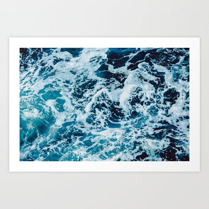 Lovely Seas Art Print