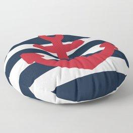 Anchor Floor Pillow