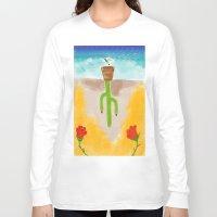desert Long Sleeve T-shirts featuring Desert by Guacamole Design