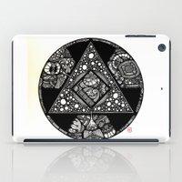 alchemy iPad Cases featuring Altered Alchemy by Christina Rivera-Scott