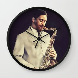 Sonny Rollins, Music Legend Wall Clock