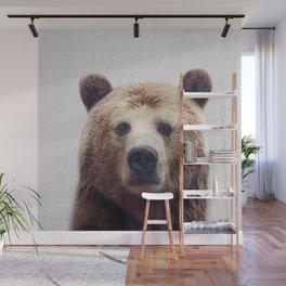 Bear - Colorful Wall Mural