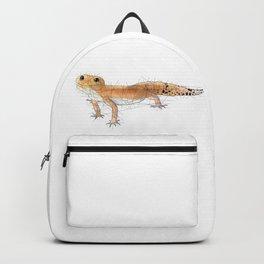 Pumpkin Leopard Gecko Backpack