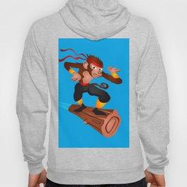 Monkey Ninja flying Hoody
