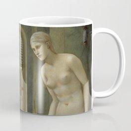 "Edward Burne-Jones ""Pygmalion and Galatea II: The Hand Refrains"" Coffee Mug"