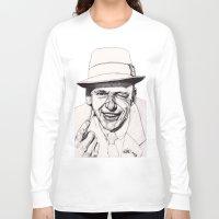 frank Long Sleeve T-shirts featuring Frank by Paul Nelson-Esch Art