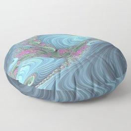 Paved Gizzard 1 Floor Pillow