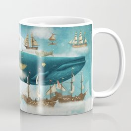 Ocean Meets Sky - from picture book Coffee Mug
