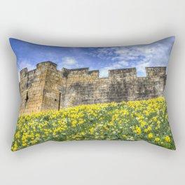 York City Walls Rectangular Pillow