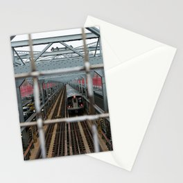 J Train - Williamsburg Bridge Stationery Cards