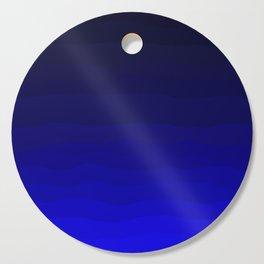 Deep Rich Sapphire Ombre Cutting Board