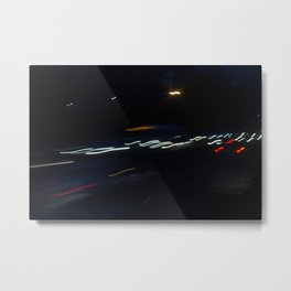 Highway Lights Metal Print