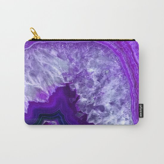 purple stone Carry-All Pouch