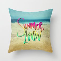 Summer Lovin' x Hawaii Throw Pillow