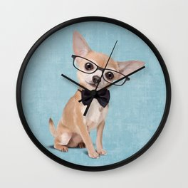 Mr. Chihuahua Wall Clock