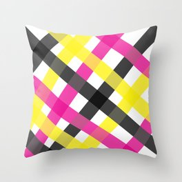 SUPERRAY tartan Throw Pillow