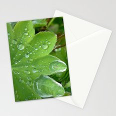water pearls Stationery Cards