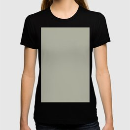 Moss Tide Solid Color Block T-shirt