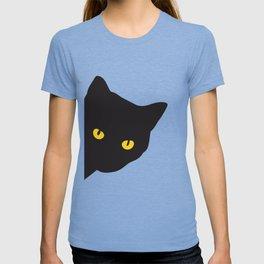 Beautiful black cat T-shirt