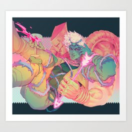 The World of One Art Print