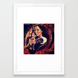 11x14 Colored H.G. Catch Fire  Framed Art Print