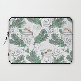 Snow globes and roses Laptop Sleeve