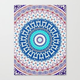 Kaleidoscope Lake Canvas Print