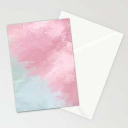 Fade Mint/Pink Stationery Cards