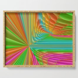 Abstract 359 a dynamic fractal Serving Tray
