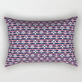 Sailor Stripes Ahoy Rectangular Pillow