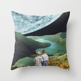 Mercury Afar Throw Pillow