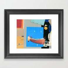 Aquatic Huntsman Framed Art Print