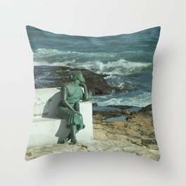 Mediterranean Dreaming Throw Pillow