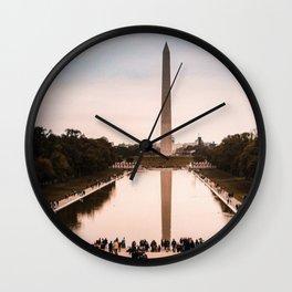Washington DC View 2 Wall Clock