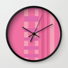 All is Pink Wall Clock