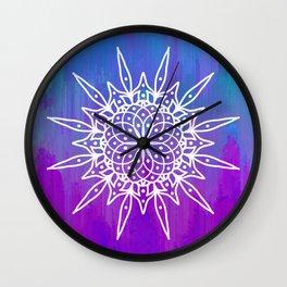 Meraki Mandala Wall Clock