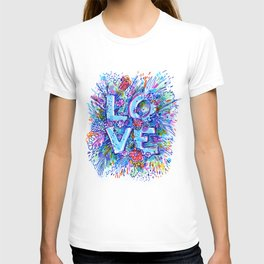 love marker T-shirt