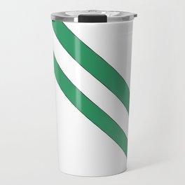 Flag of nigeria 2 -nigeria, nigerian,africa,hausa,igbo,Yoruba,Naira,Lagos,Kano Travel Mug