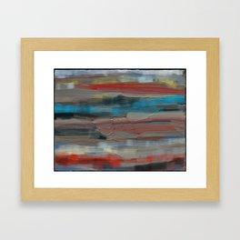 Abstact Southwest Landscape Framed Art Print