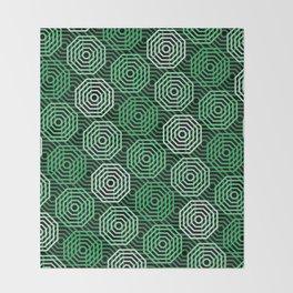 Op Art 167 Throw Blanket