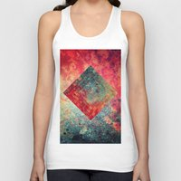 square Tank Tops featuring Random Square by Esco