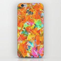 papier-machete iPhone & iPod Skin