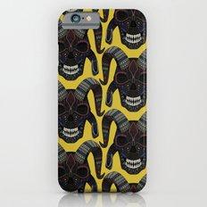 demon skull ochre Slim Case iPhone 6s