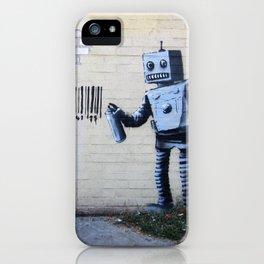 Banksy, Robot iPhone Case