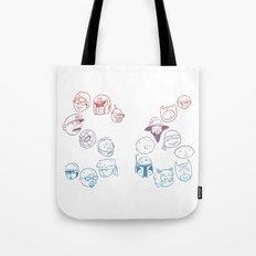 Pop Faces Tote Bag